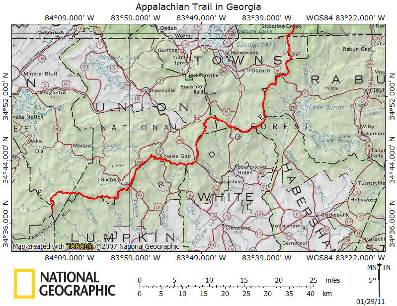 Appalachian Trail in Georgia
