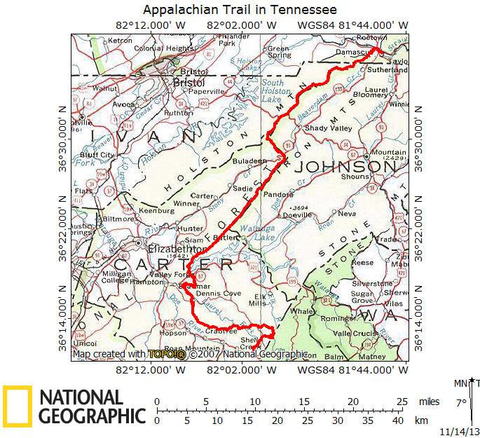 Appalachian Trail In Tennessee