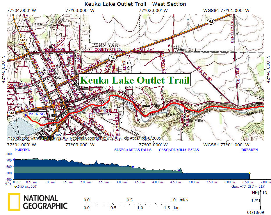 Keuka Lake Outlet Trail on map of keuka lake upstate new york, finger lakes wineries, map of cayuga seneca winery, map of keuka lake area,