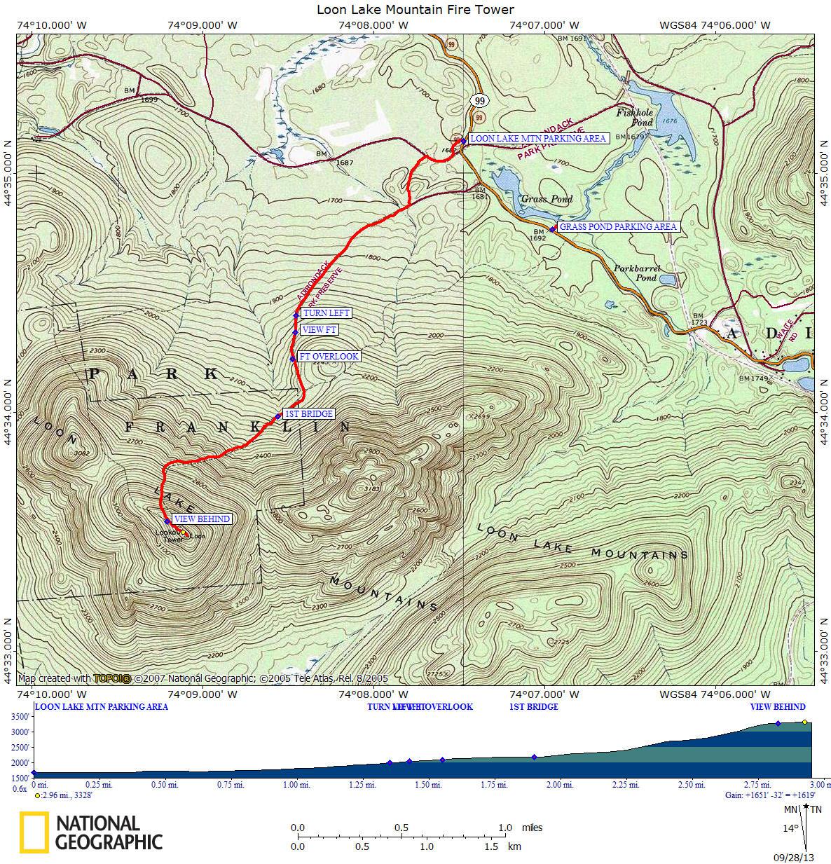 Loonlakemountaintrailmapg dec map that is at the kiosk publicscrutiny Choice Image
