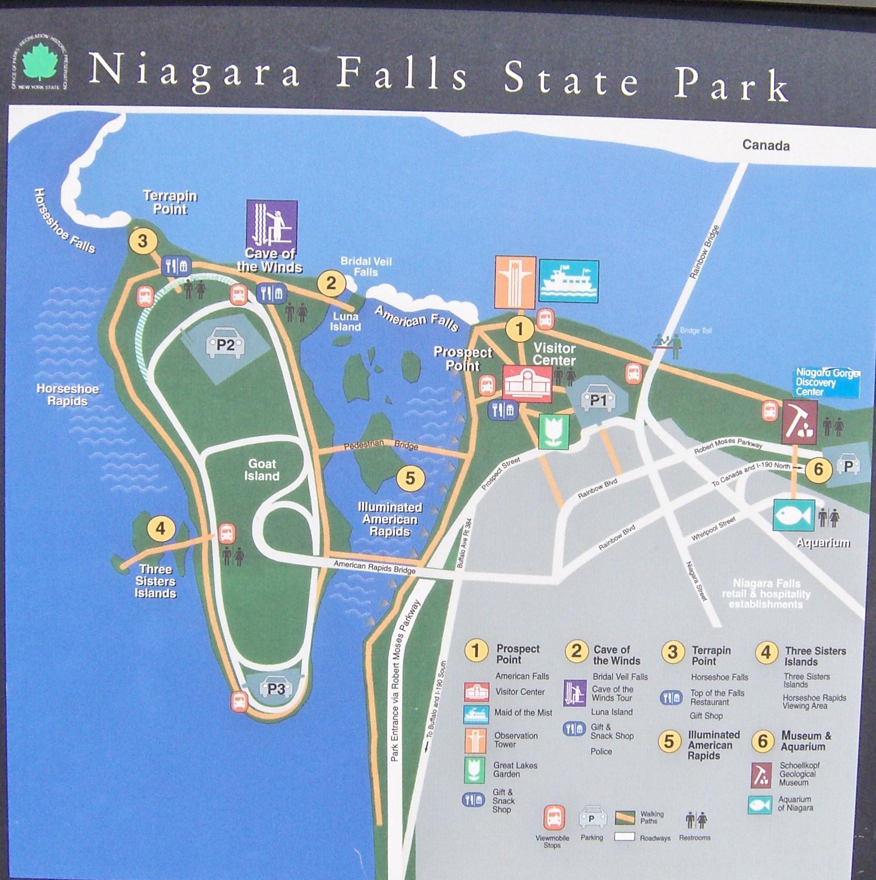 Falls state park niagara falls state park publicscrutiny Choice Image